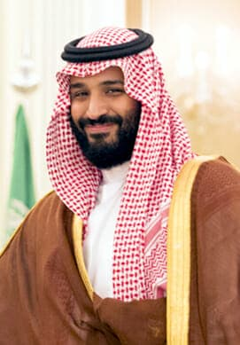 Crown Prince Mohammad bin Salman Al Saud   2017