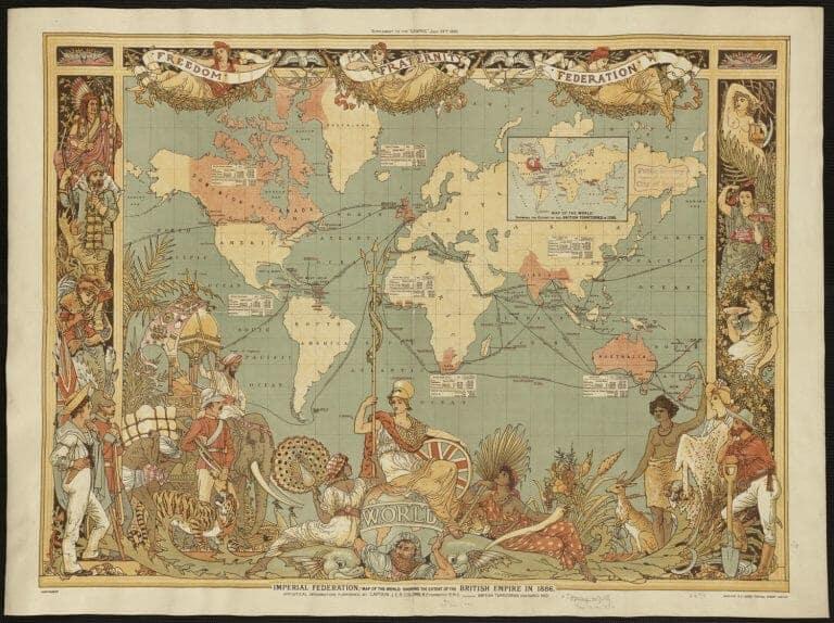 British empire 1886