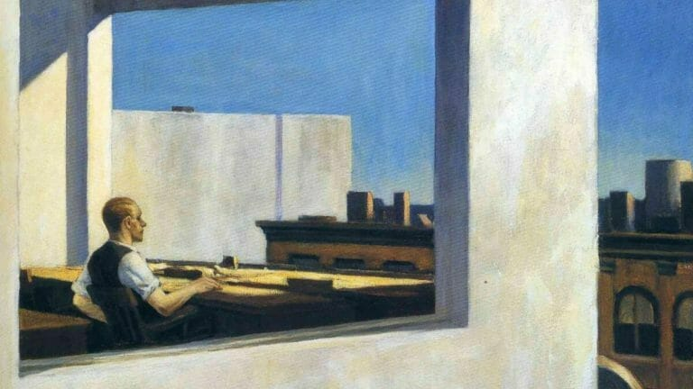 Edward Hopper Office in a Small City