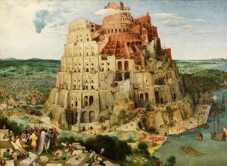 Tower of Babbel Bruguel the Older