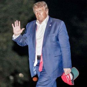 Trump no tie