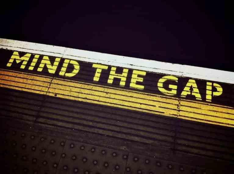 mind the gap scaled