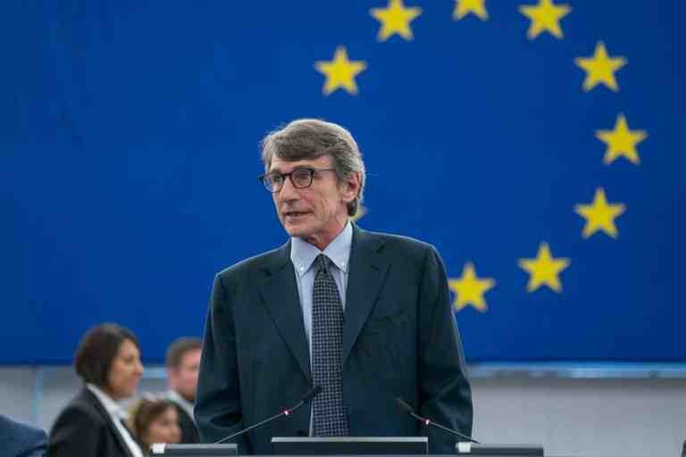 David Sassoli, EP President