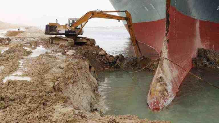 Suez Blocked