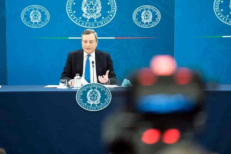 Draghi Presser 16.4.21